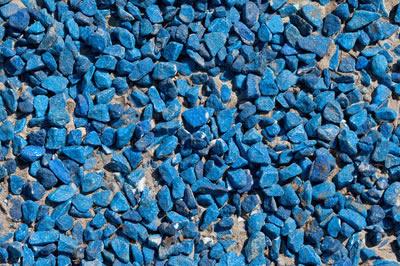 Granitskærver blå mix – Færdigsyede gardiner bilka